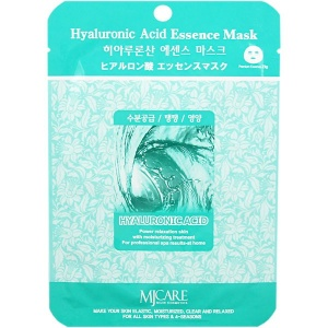 Mijin СПЦ Маска тканевая с гиалуроновой кислотой Hyaluronic Acid Essence Mask (23гр)